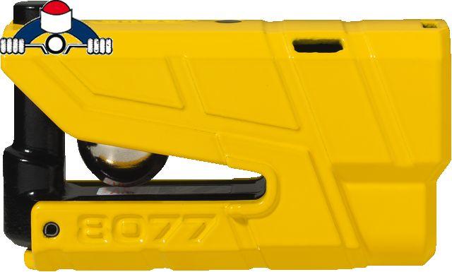 abus granit detecto yellow xplus 8077 schijfslot