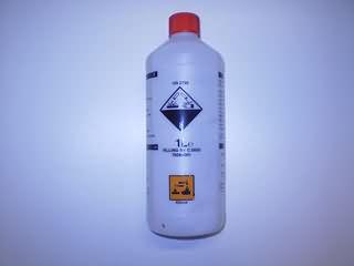 accuzuur vulling 1 liter met schenktuit