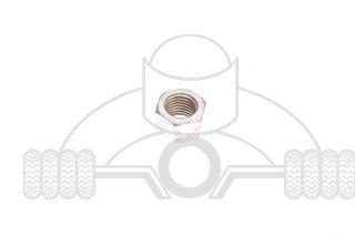 achterasmoer c310c320 origineel chroom m12150