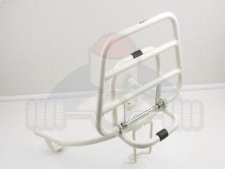 achterdrager sym cello wit kofferrek