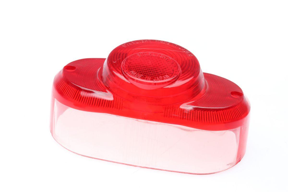 achterlichtglas honda c50c70 lollypop ronde kant