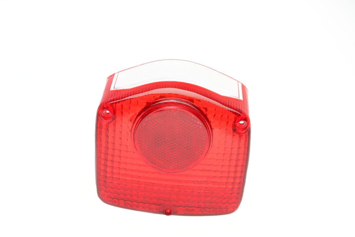 achterlichtglas honda cb50 cy50 cy80 3schroef