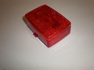 achterlichtglas puch maxi klein model rood