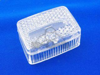 achterlichtglas puch maxi klein model wit
