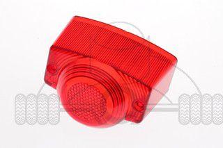 achterlichtglas retro agm china scooter rood