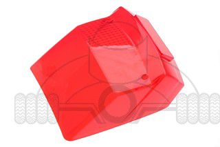 achterlichtglas vespa vsx p80p150xp200e rood
