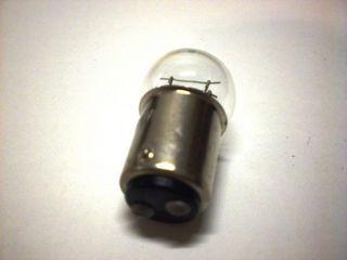 achterlichtlamp 6v 213w wit g18 remlichtlamp