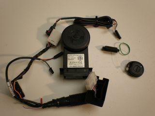 ALARM E-POWER (250+500+MP3) incl. kabel