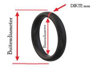 O-RING 11-2.5 4K SS50/CD50/C50/DAX/Z50 KOP+VOET