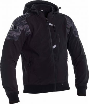 RICHA ATOMIC HOODIE WP CAMO BLACK L