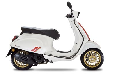 Vespa Sprint Racing Sixties 25 km E5 BIANCO